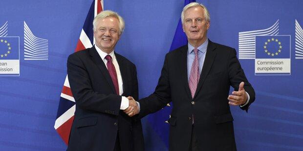 EU und London einigen sich auf gemeinsamen Fahrplan