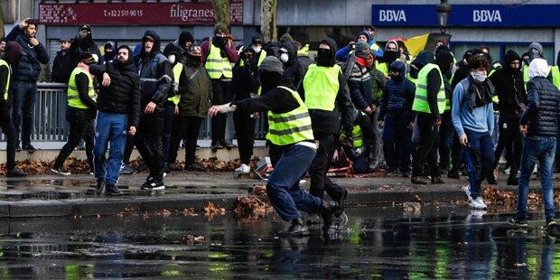 Gelbwesten: Erstes Todesopfer in Belgien