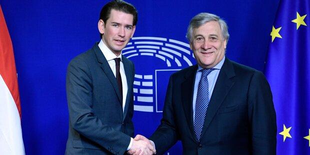 EU-Parlamentschef schwärmt von Kurz