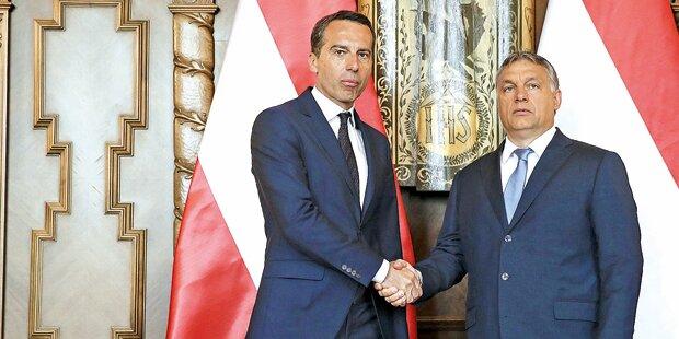 EU-Duell Kern gegen Orbán