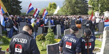 Hitlergruß bei Kroaten-Treffen: 15 Monate bedingt für 67-Jährigen