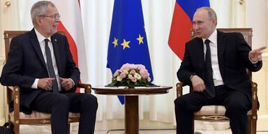 Van der Bellen VdB Putin