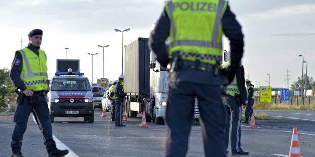 österreich Grenzkontrolle