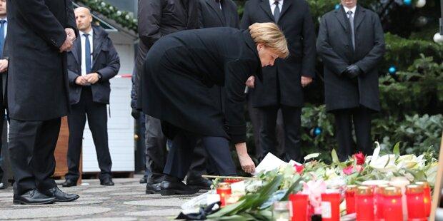 So sehr schadet der Anschlag Merkel