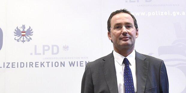 Shitstorm gegen Wiener Polizeipräsidenten