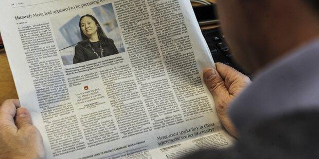 Huawei-Finanzchefin: Erste Gefangene im Handelsstreit