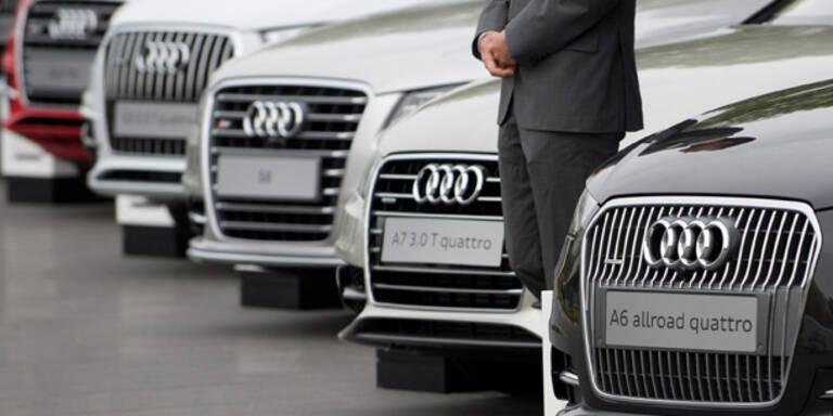 Top-Manager fahren am liebsten Audi