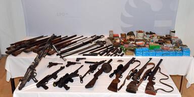 Ermittler sprengten riesiges Waffen-Lager