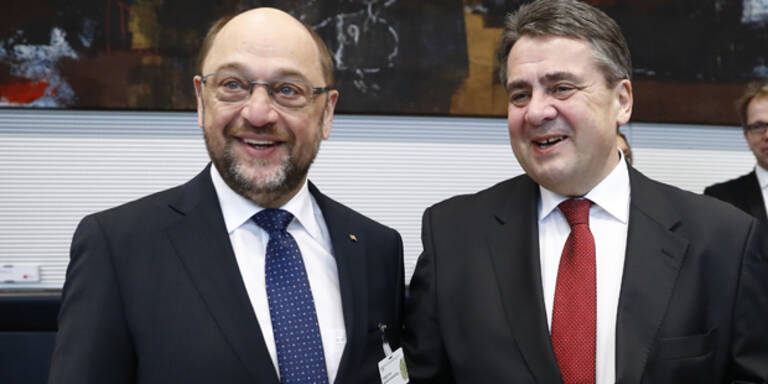 Schulz und Gabriel erfreut über Wilders-Pleite