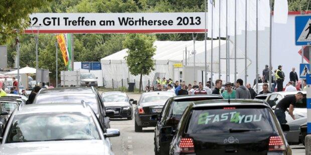 GTI-Treffen: 11 illegal getunte Autos aussortiert