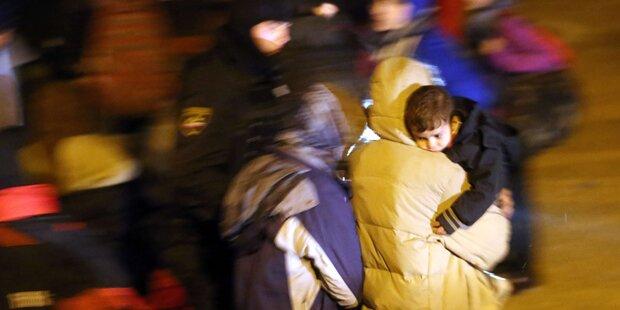 Flüchtlingssituation in Slowenien prekär
