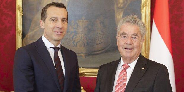SPÖ: Fischer traf Kern