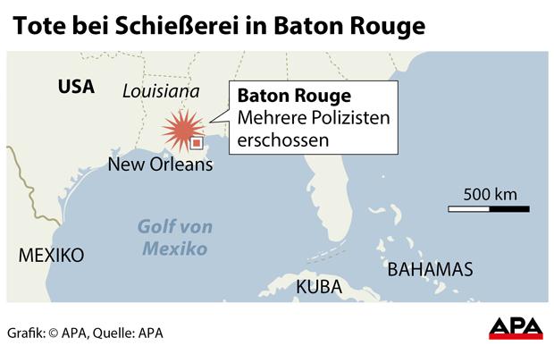 Baton Rouge Grafik