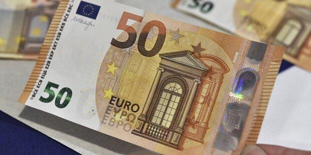Der neue 50-Euro-Schein kommt im April