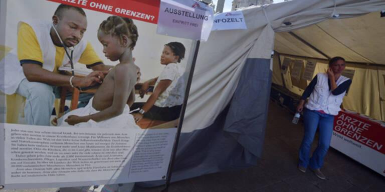 Ärzte ohne Grenzen nehmen keine EU-Spenden mehr an