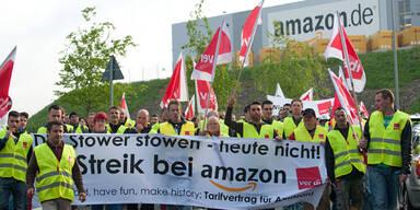 Erneut Streiks an deutschen Amazon Standorten