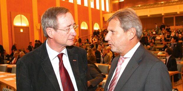 ÖVP einigt sich auf Hahn als Kommissar