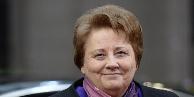 Ministerpräsidentin Straujuma wirft Handtuch