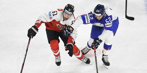 Österreich verlor gegen Slowakei 2:4