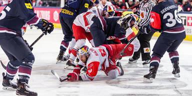 Eishockey Salzburg Bullen gegen München