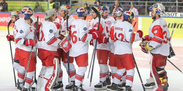 Eishockeybullen besiegen Zagreb mit 7:0