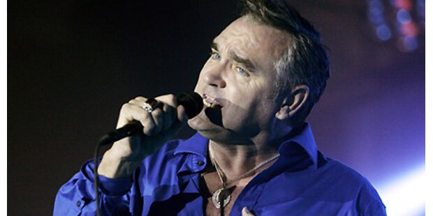 Morrissey beehrt Wien