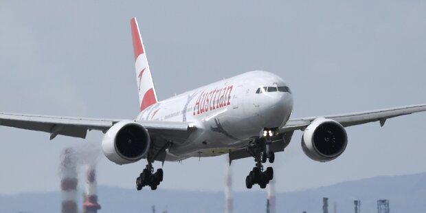 AUA fliegt ab Oktober wieder nach China