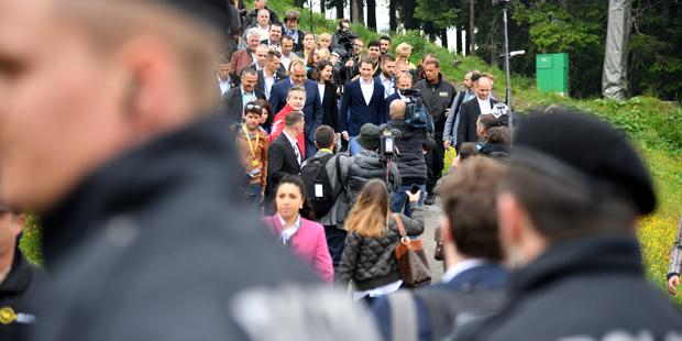 Schladming EU-Ratsvorsitz Kurz Tusk Borissow
