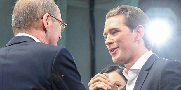 Erdrutsch-Sieg für ÖVP