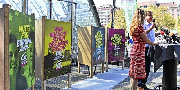 EU-Wahl: Grüne gehen 'mutig' in den Wahlkampf