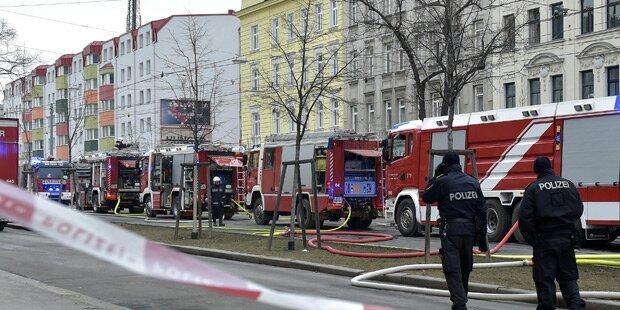 Explosion in Wien: 55-Jähriger festgenommen