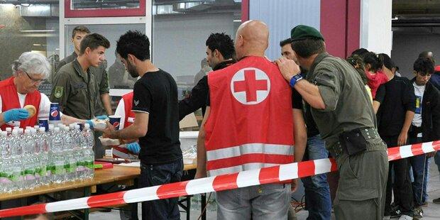 Schlägerei in Flüchtlingsquartier