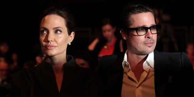 Brad Pitt und Angelina Jolie sind jetzt offiziell Singles
