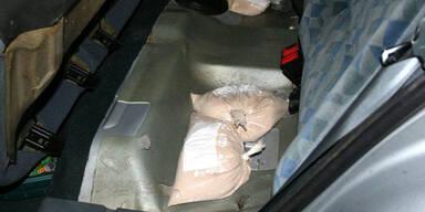 Ein Kilo Heroin von Polizei sichergestellt