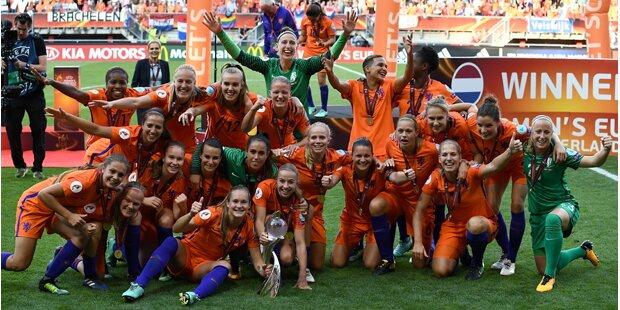 Niederländerinnen krönen sich daheim zum Europameister