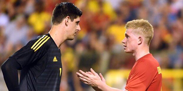 Belgien-Goalie spannte Mitspieler Freundin aus