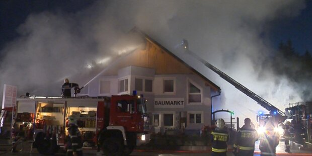 Großbrand in Bad Aussee