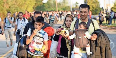 Asylanträge nehmen in Deutschland wieder zu
