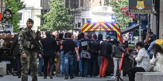 Viele Verletzte bei Explosion in Lyon