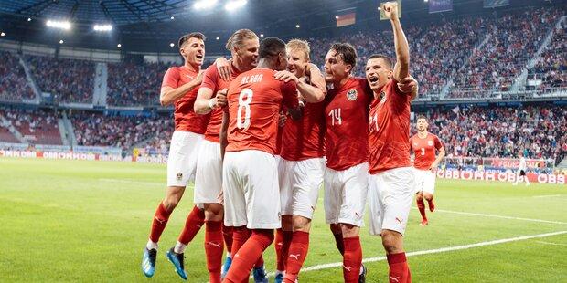 Last-Minute Sieg des ÖFB-Teams