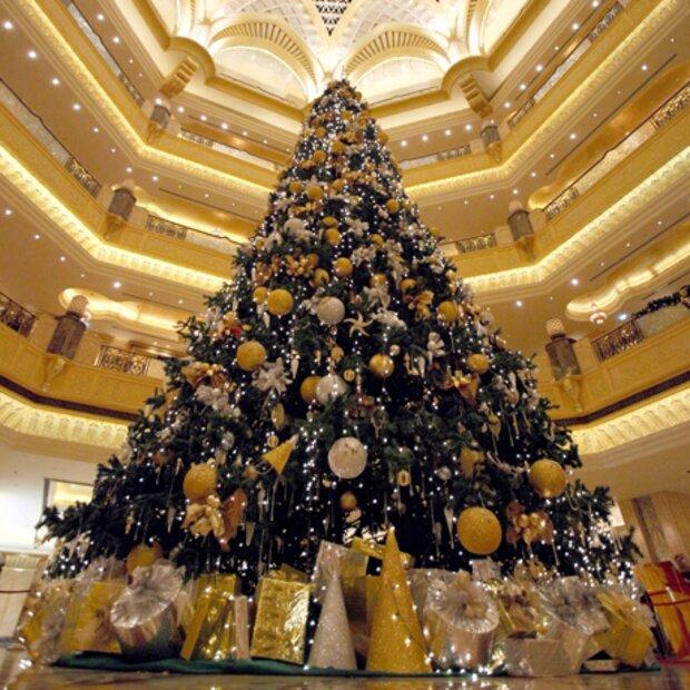 Der hochste weihnachtsbaum der welt