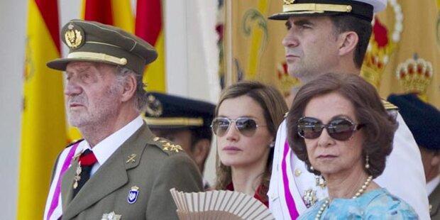 Monaco: Juan Carlos und Felipe sagen ab