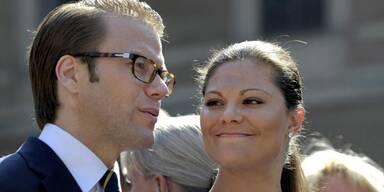 Prinz Daniel und Kronprinzessin Victoria von Schweden