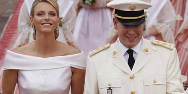 Fürst Albert und Charlene: Hochzeit