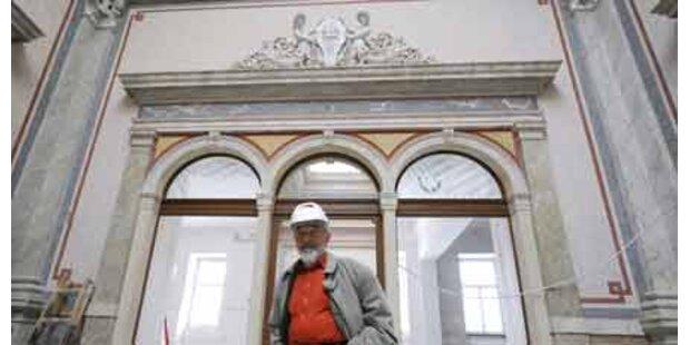 Museums-Trip mit Arnulf Rainer