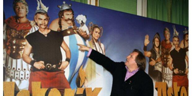 Depardieu ist Stargast bei Asterix-Premiere