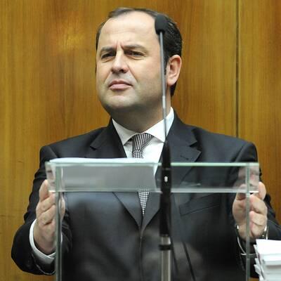 Prölls Budgetrede im Nationalrat
