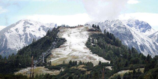 Schnee-Chaos mitten im August