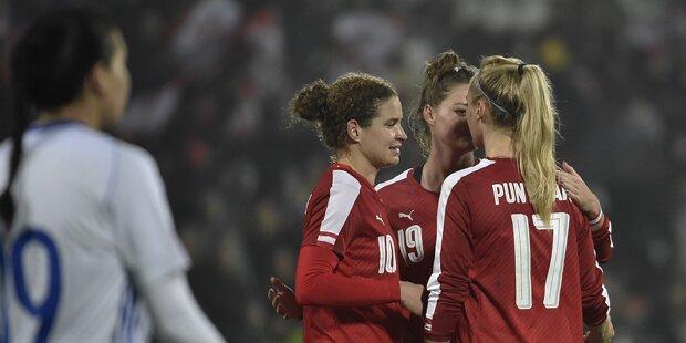6:0 Kantersieg: ÖFB-Frauen fertigen Israel ab