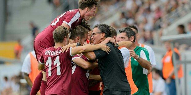 Mattersburg mit 3:2-Sieg gegen Altach